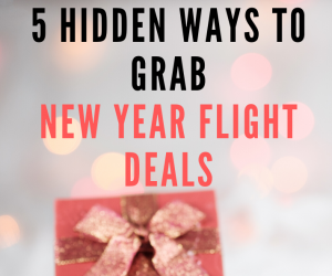 New Year Flight Deals – Save $150 on Call Only Deal